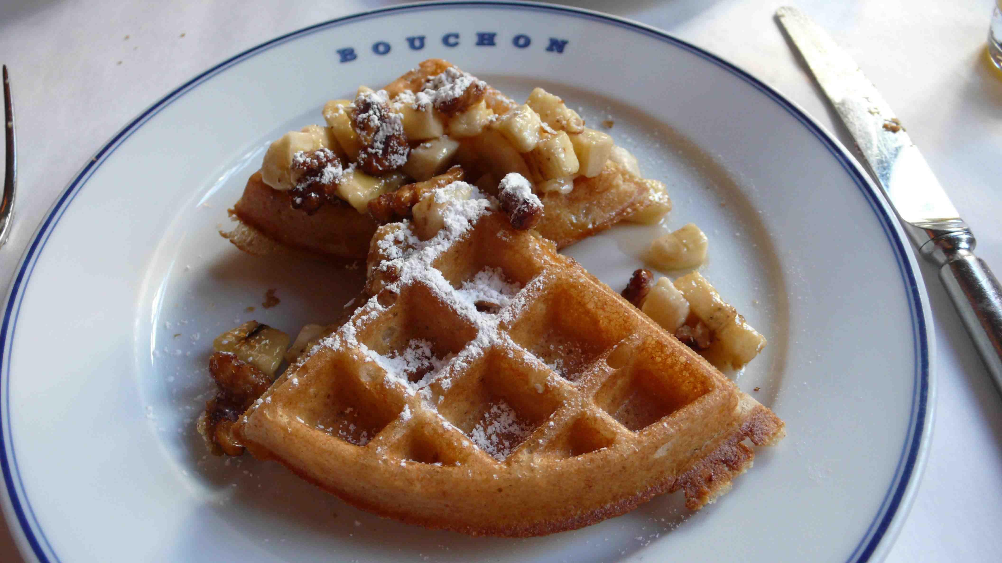 Bouchon Waffles