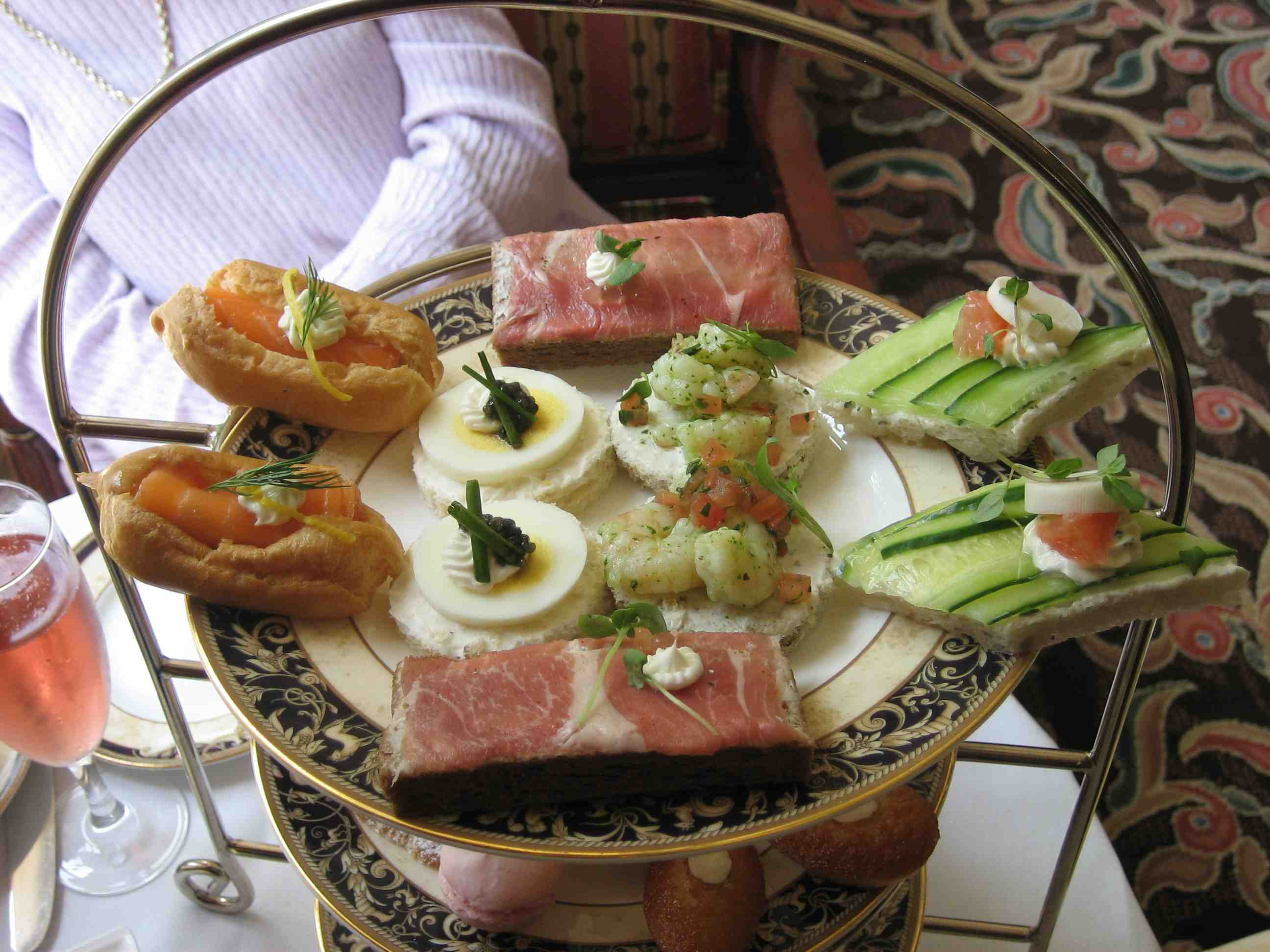 Langham tea sandwiches