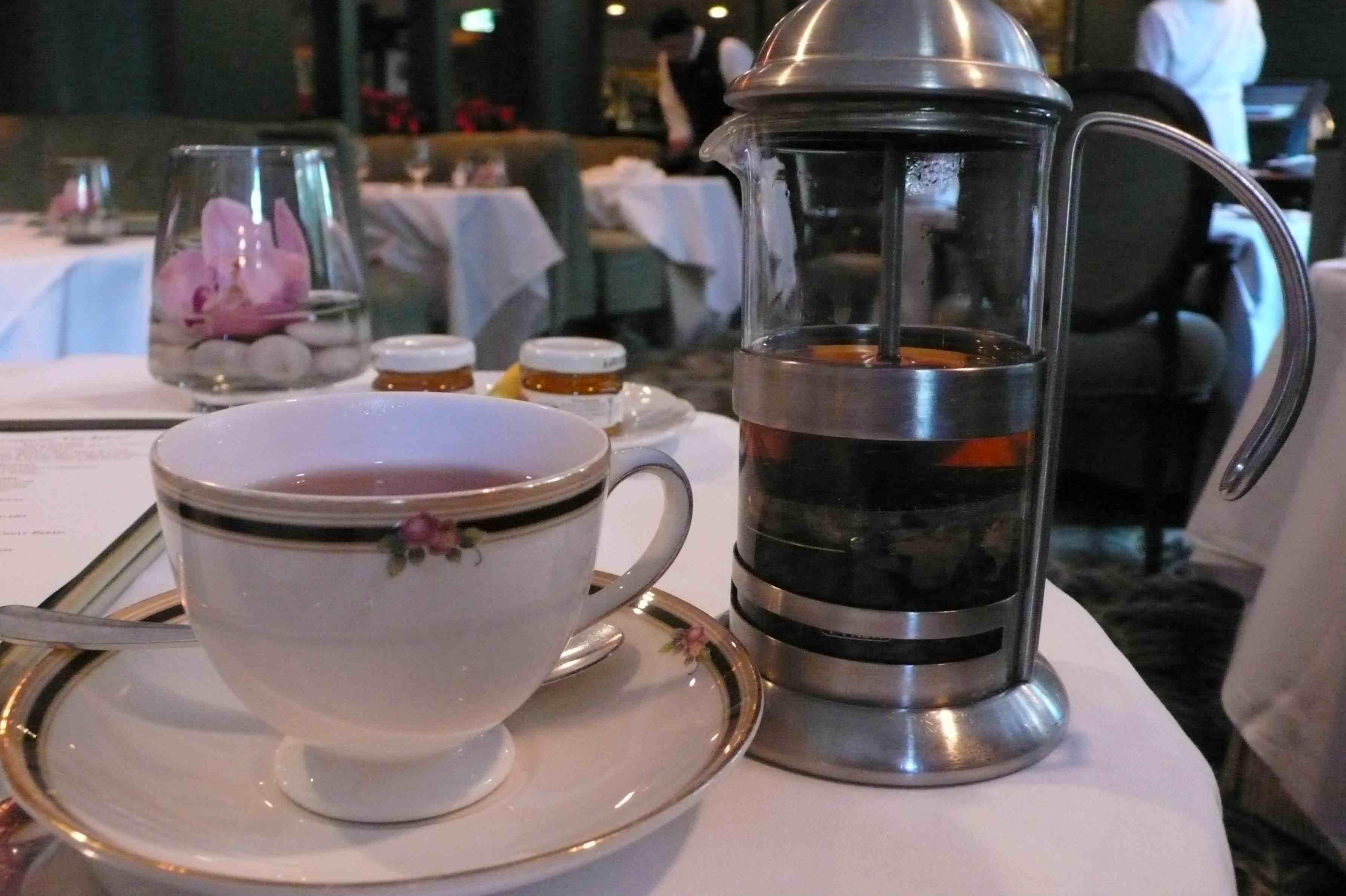 Tea and diffuser