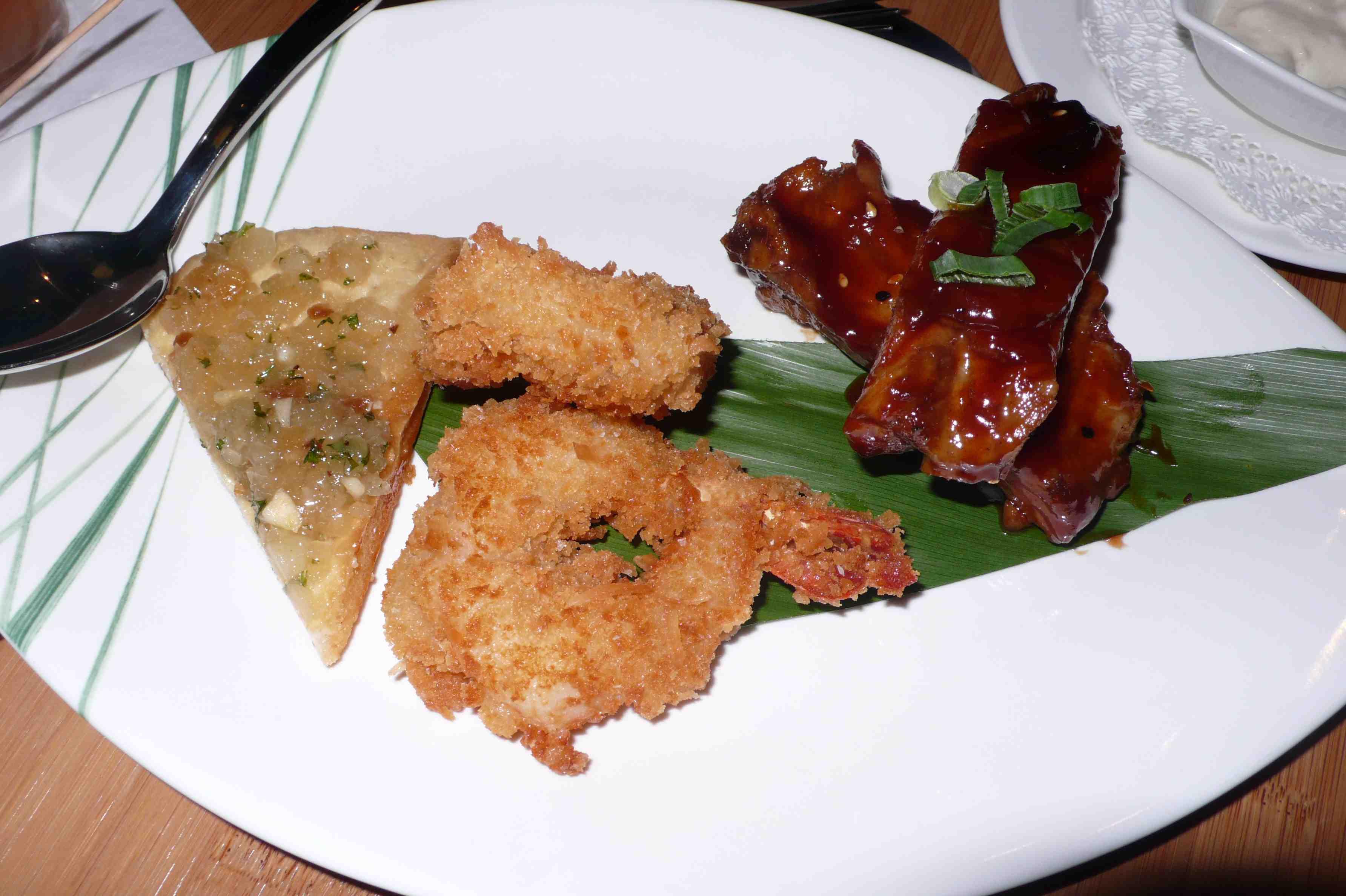 Tonga Appetizer Platter