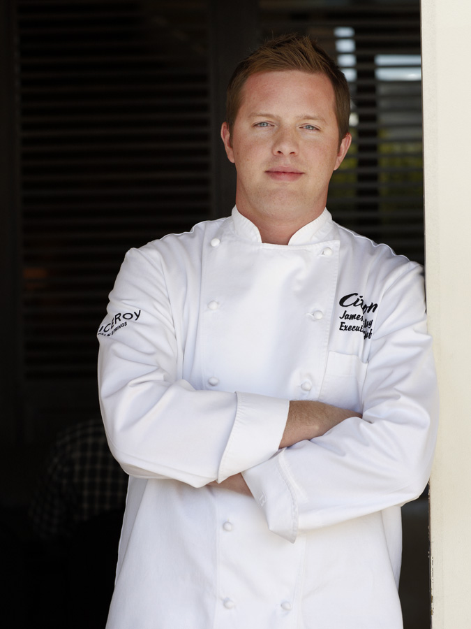 Executive Chef James Bailey