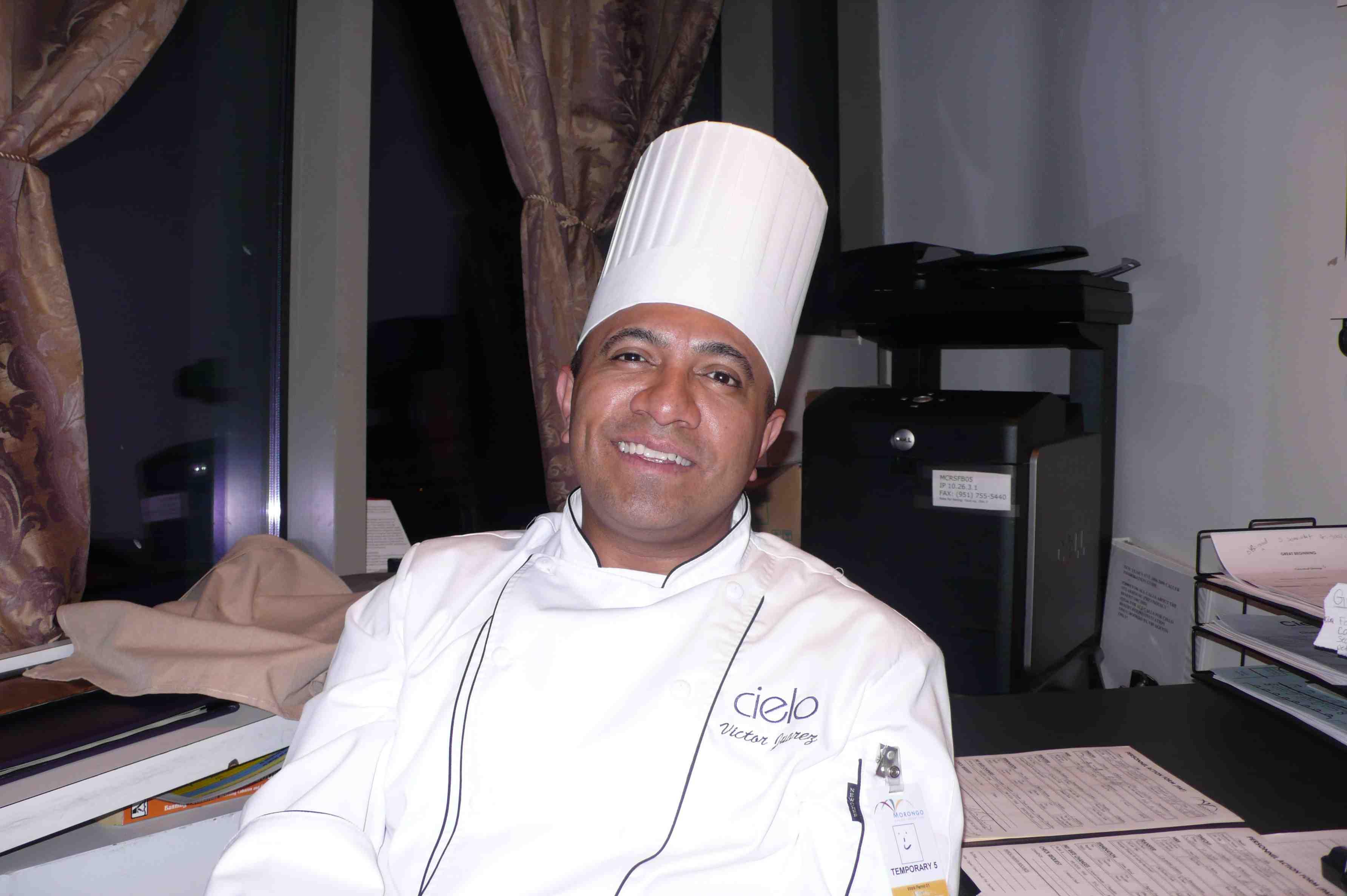 Chef de Cuisine Victor Juarez