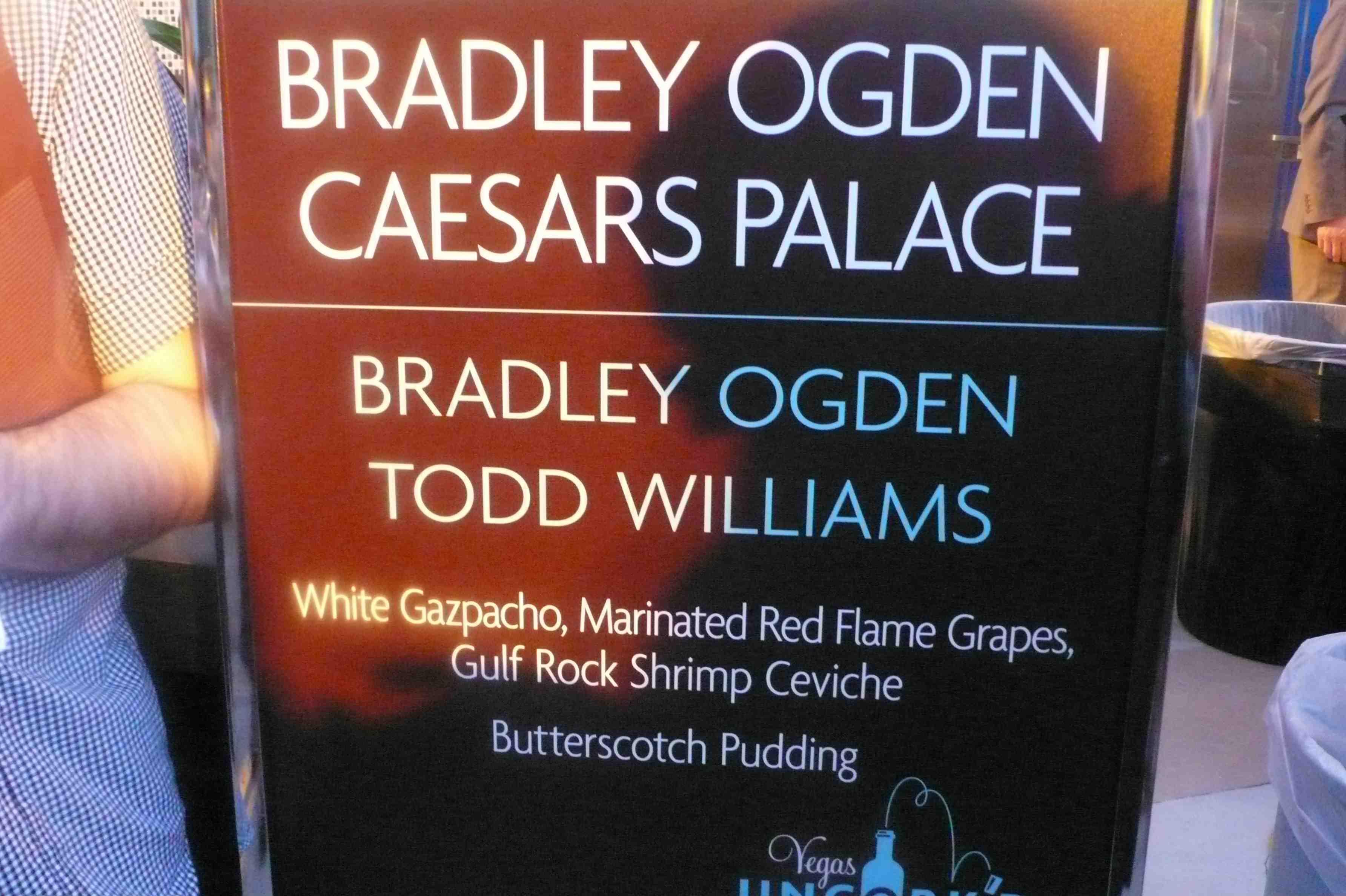 Bradley Ogden, Caesars