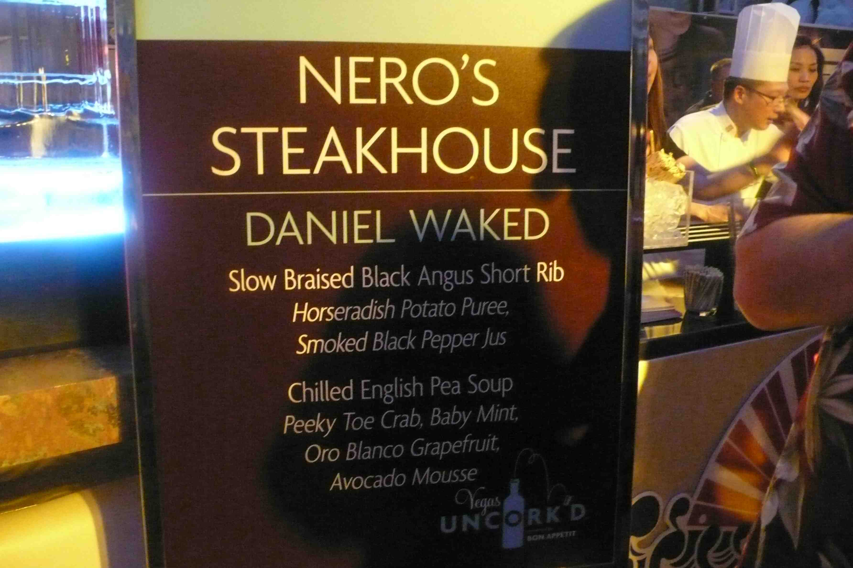 Nero's Steakhouse, Caesars