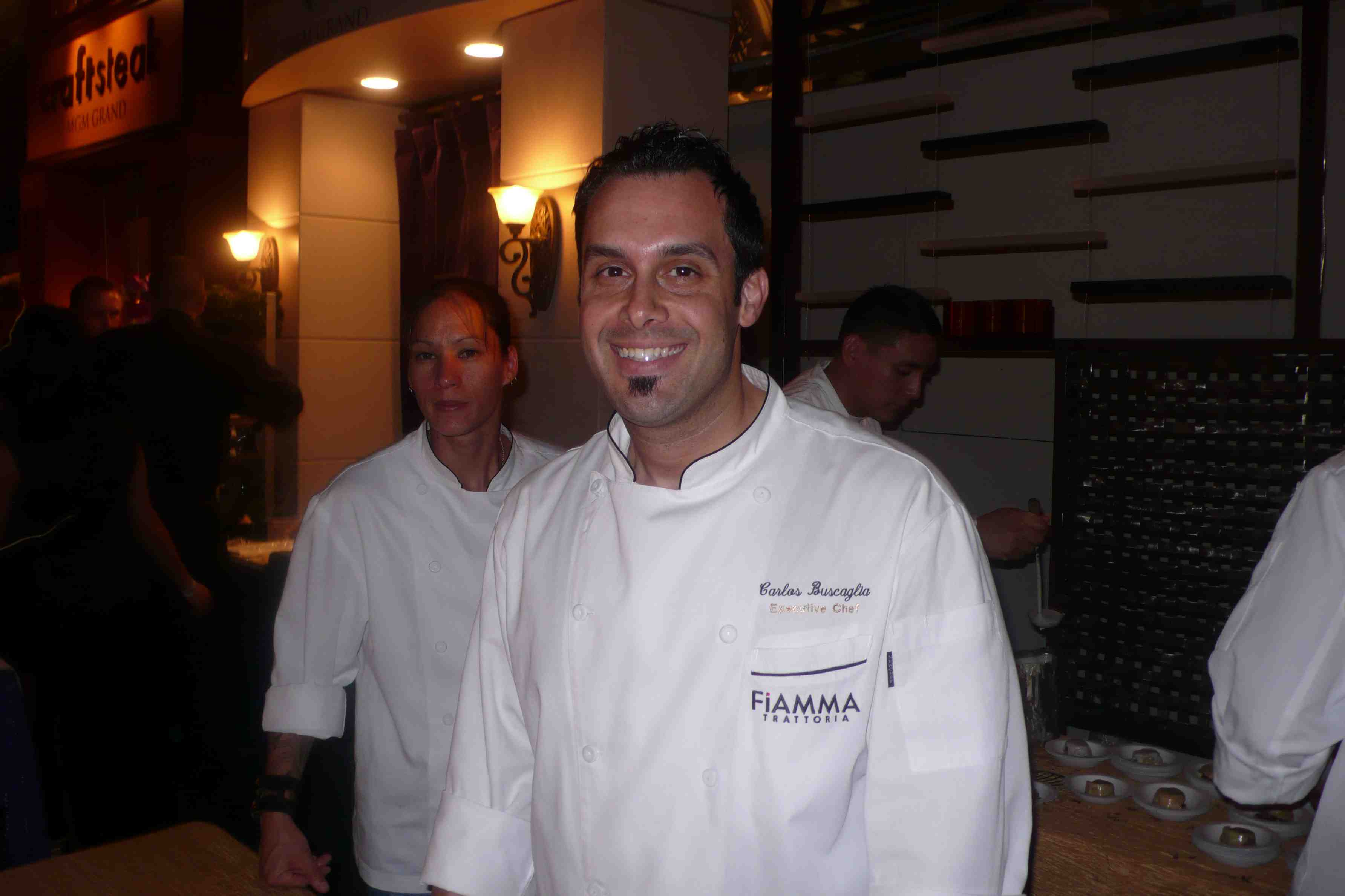 Chef Carlos Buscaglia
