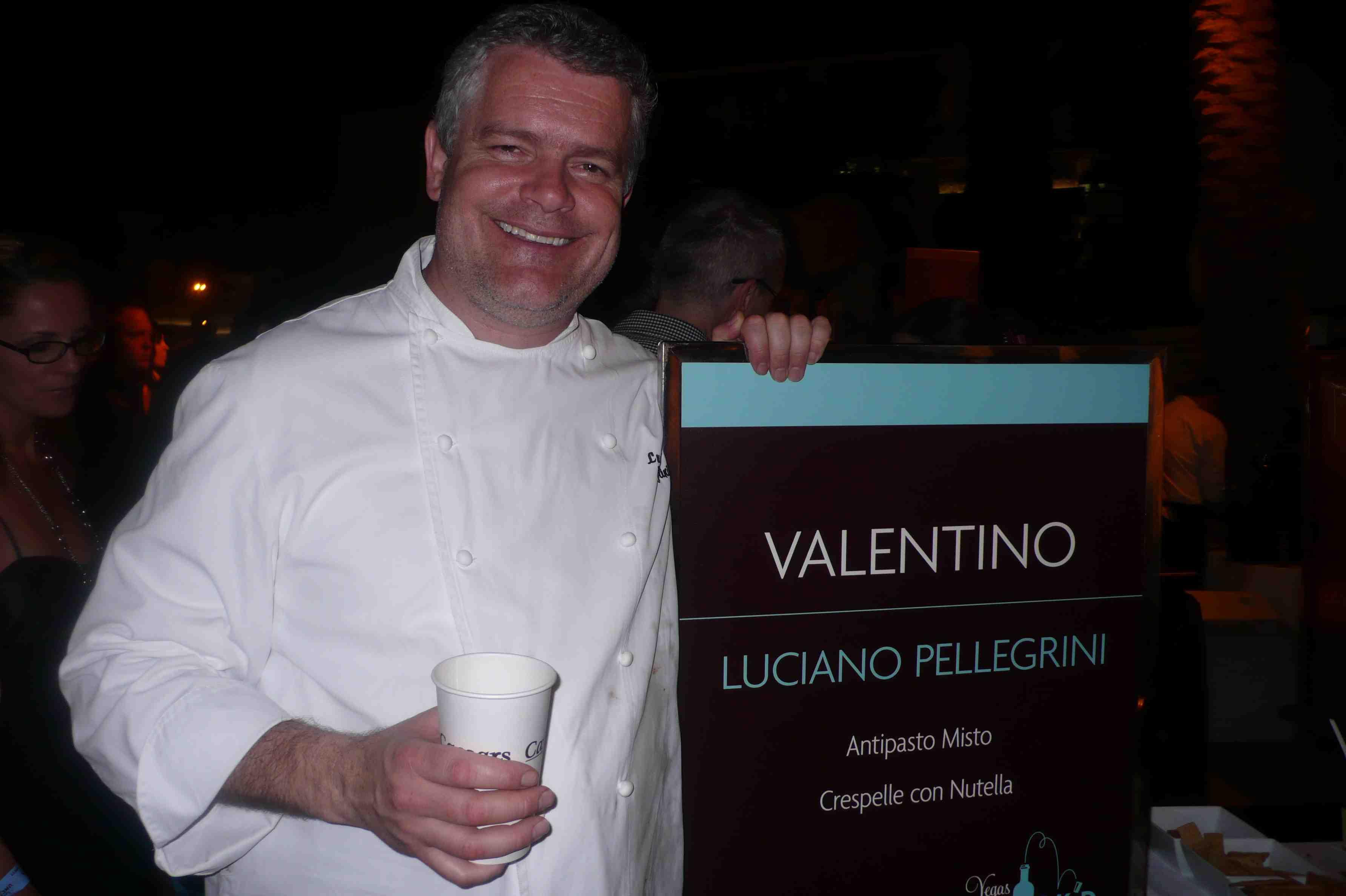 Valentino chef Luciano Pellegrini
