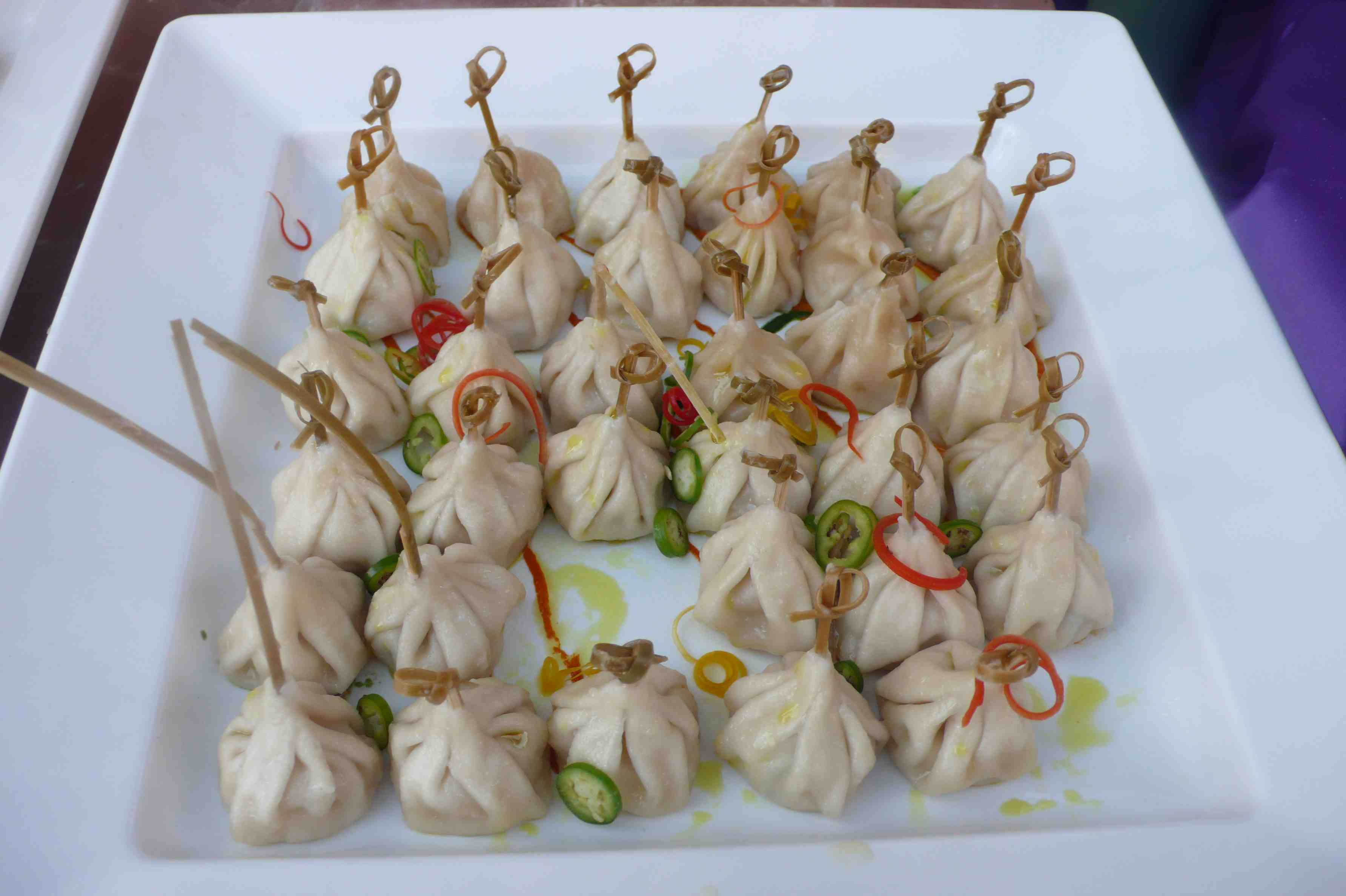 thai chicken dumplings