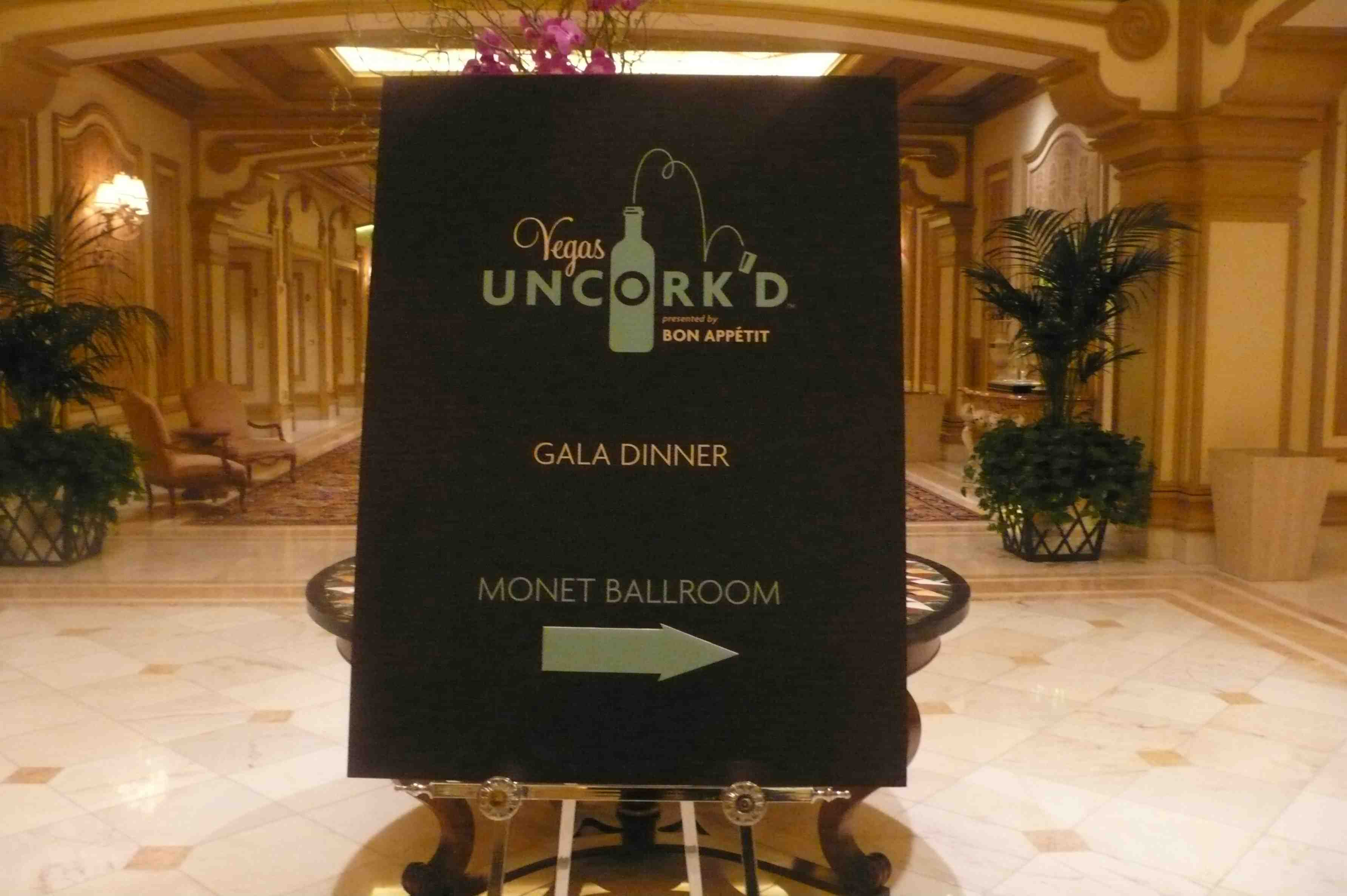May 9 Uncork'd Gala Dinner