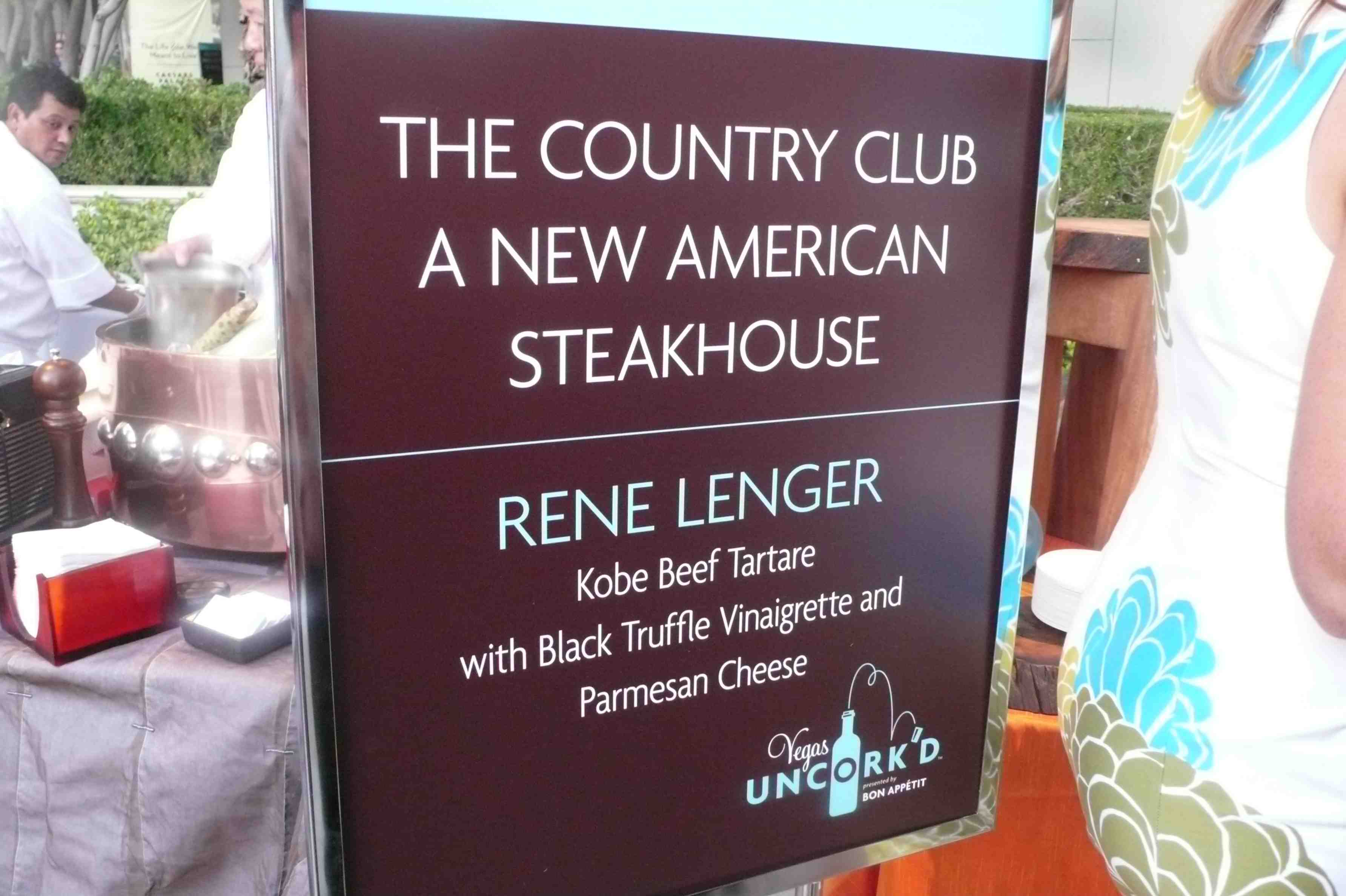 The Country Club New American Steakhouse, Wynn