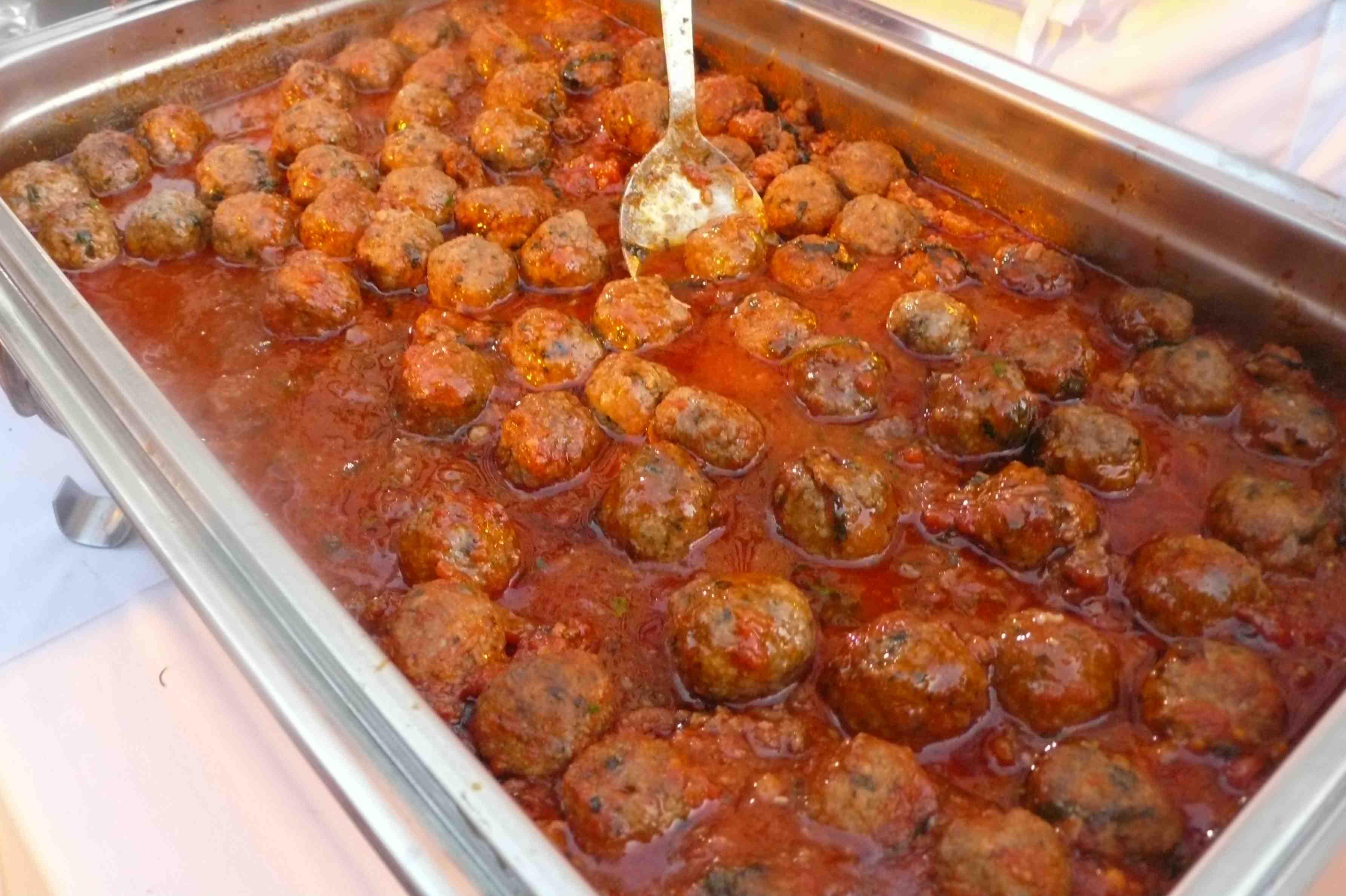 Lavo meatballs