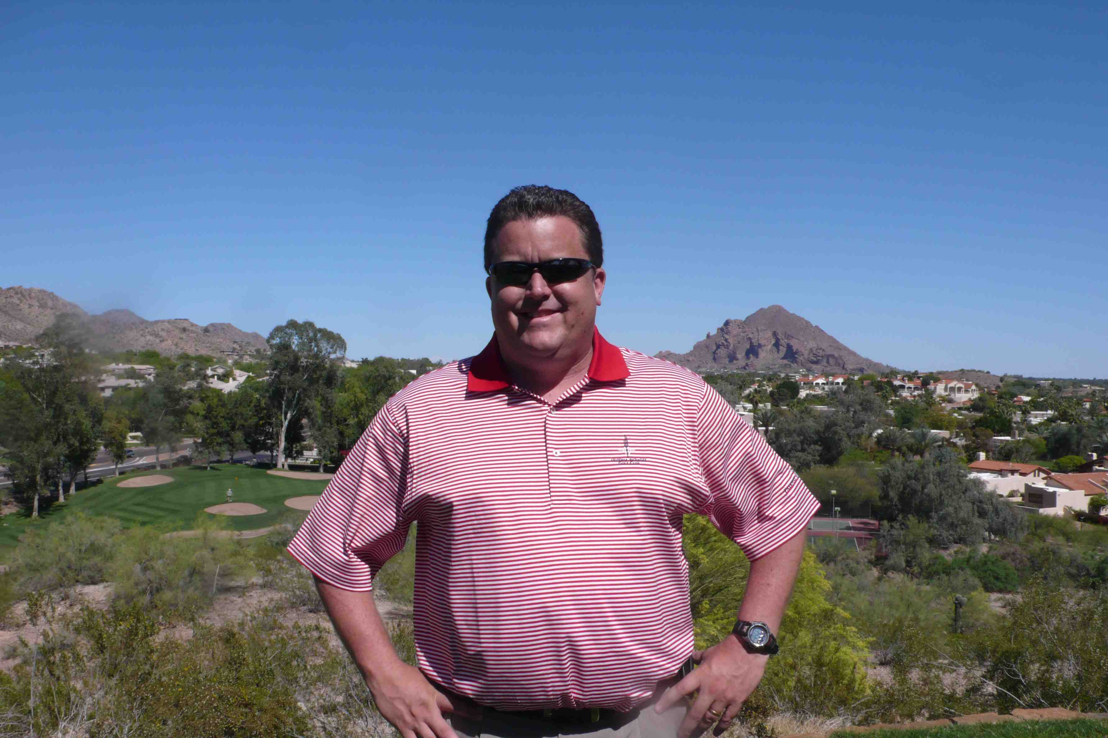 Ron Heraty, Head Golf Pro at the Arizona Biltmore