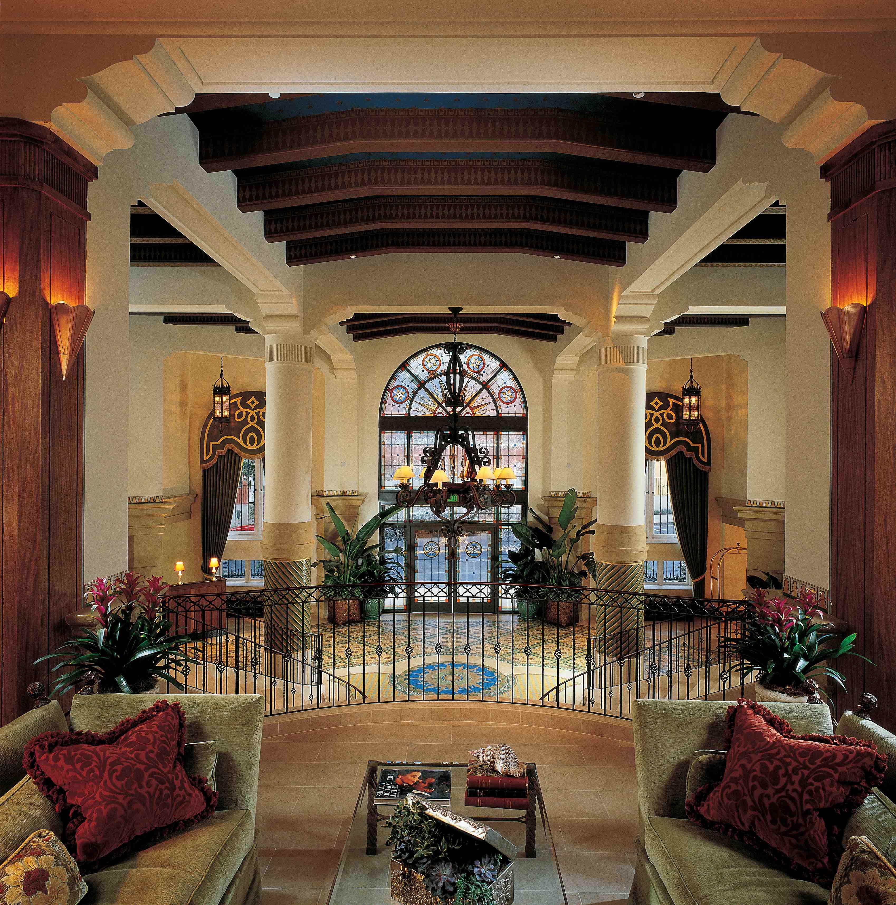 Impressive Casa Del Mar lobby