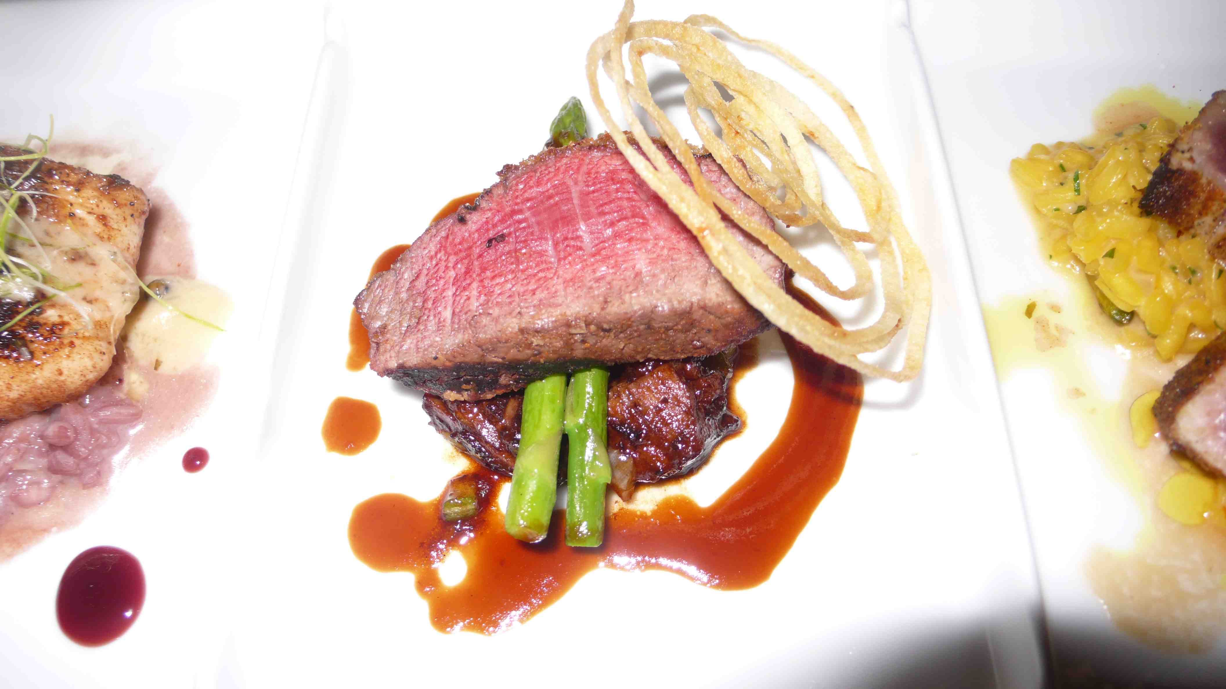 Beef with shortrib ragout