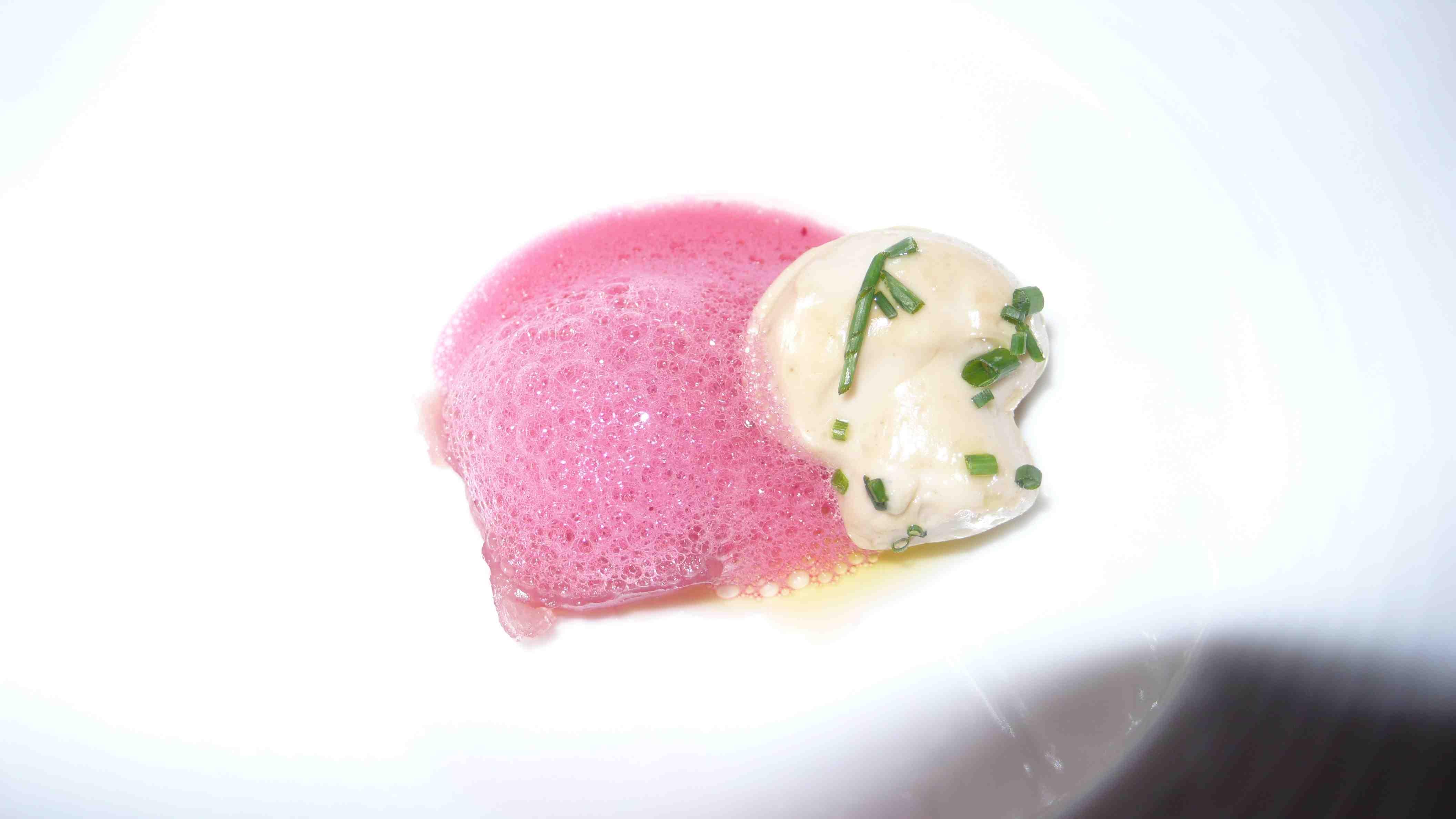 Blue fin tuna, mushroom