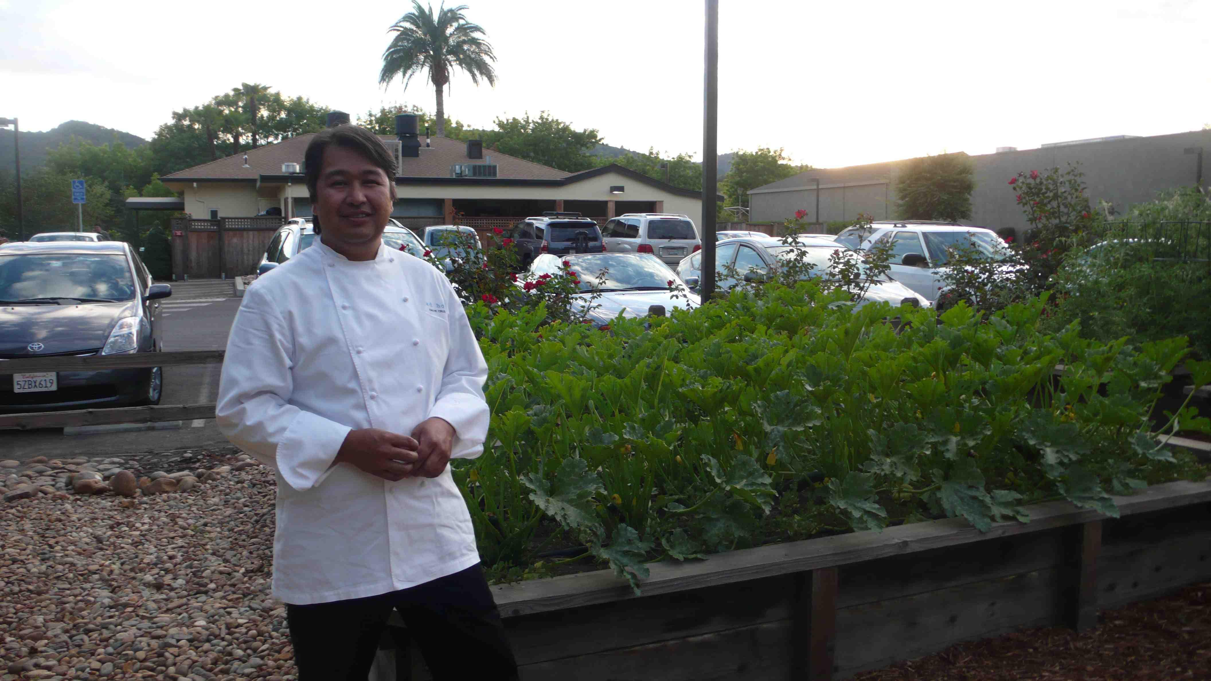 ad hoc Chef de Cuisine Dave Cruz