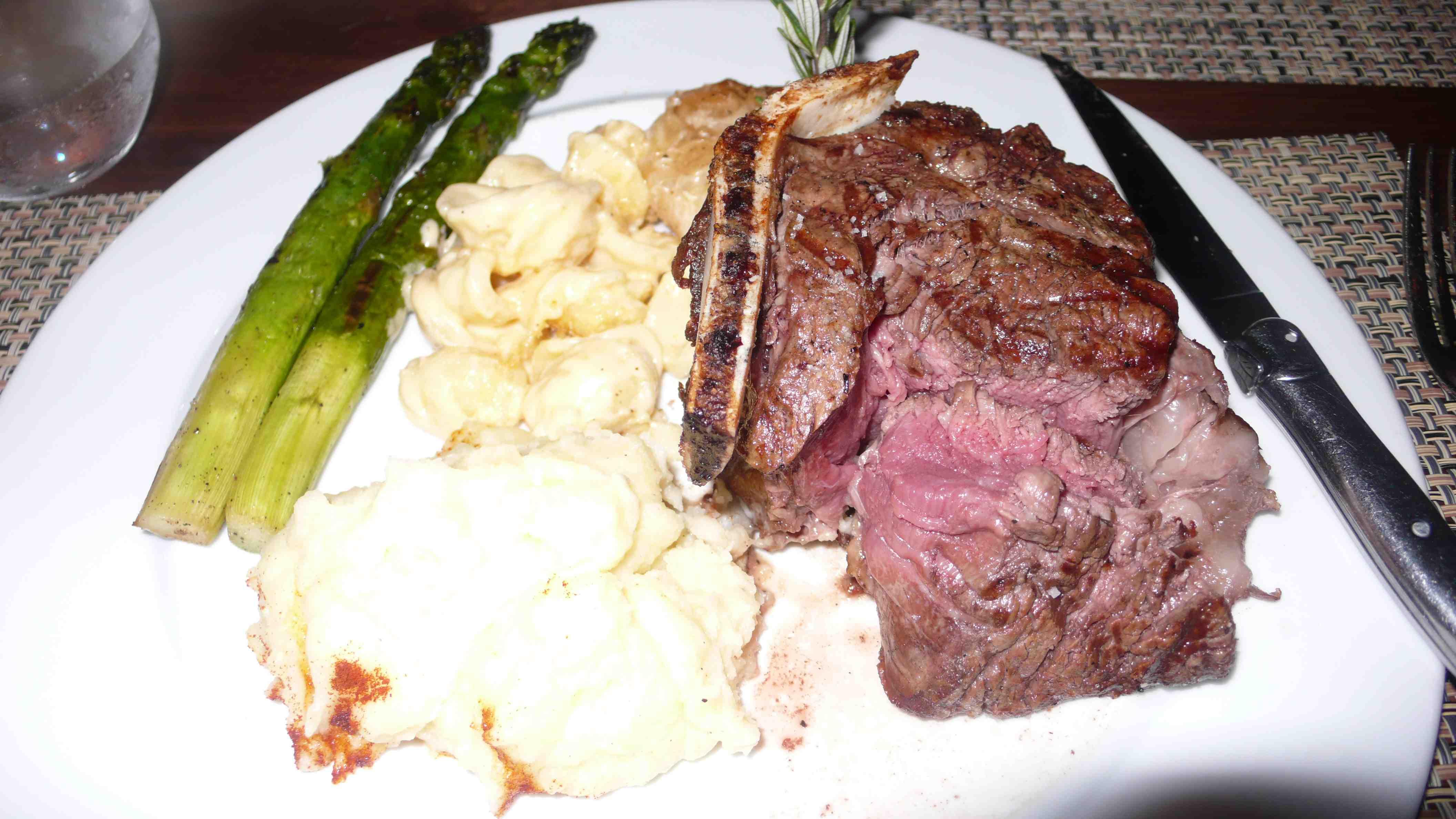 My plate, yummy