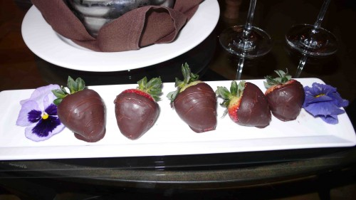 choc dipped strawberries