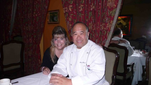 Chef Akira and me