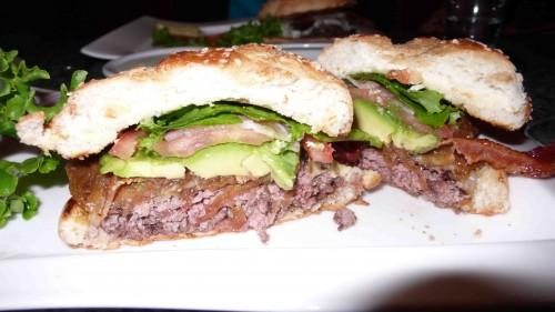 My Kobe burger