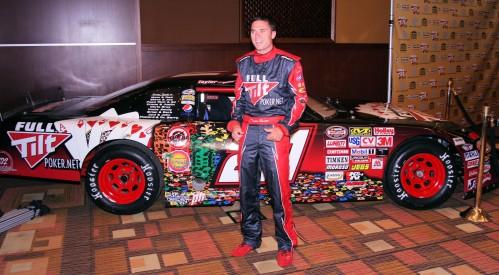 NASCAR racer Taylor Barton