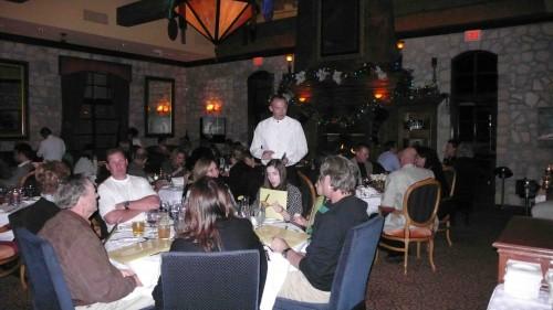 Main dining room, Cuistot