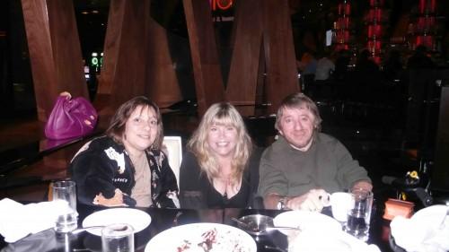 The three poker players