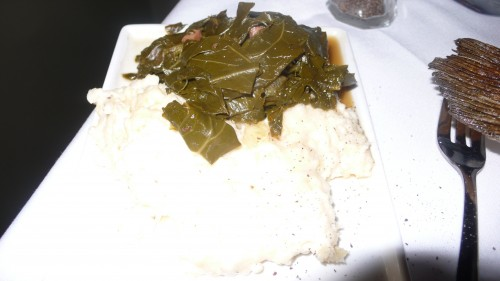 Grits and collards