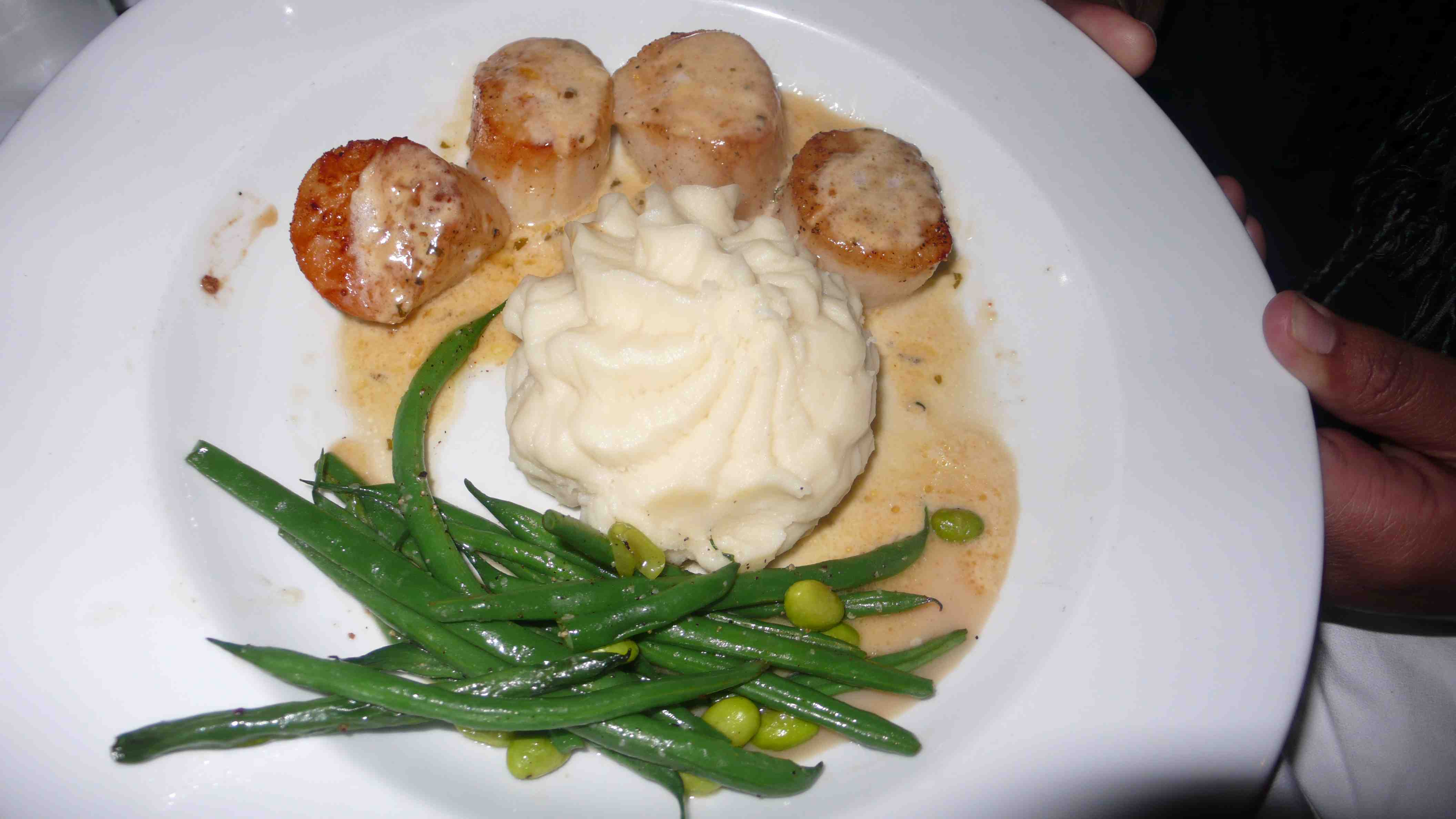 scallops with apricot sauce daniela s love affair scallop with apricot ...