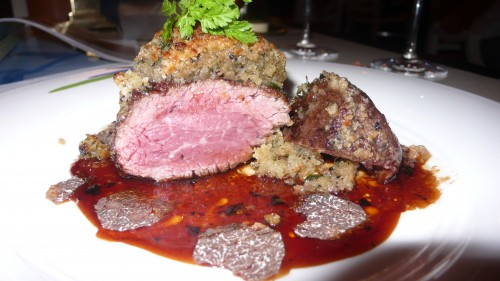 filet with truffles