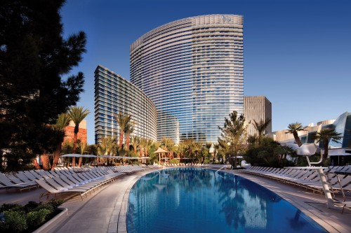 Aria Resort pool