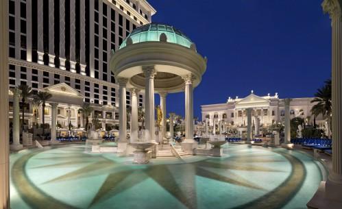 Caesar's Palace pool area