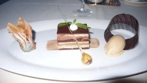 Valrhona chocolate trio