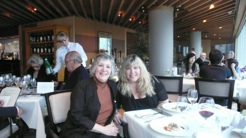 Lynda and me at Five Sails