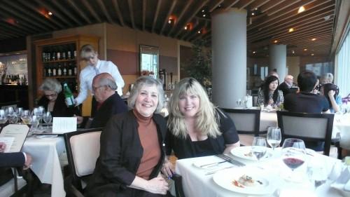 Lynda and me at Five Sails