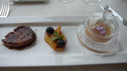 Trio of foie gras