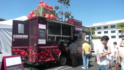 Cookign Channel food truck