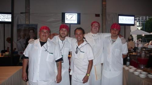 Chefs from Fraiche