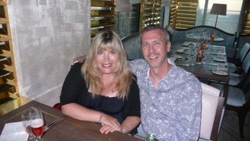 Me and chris, GR London