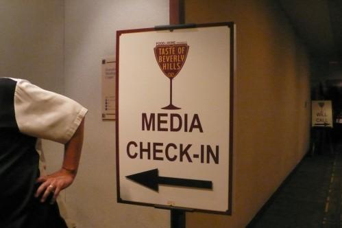 media check in