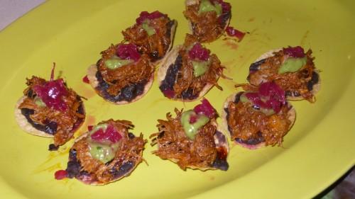 little pork tacos