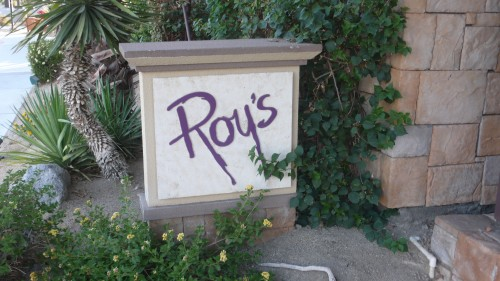 Roy's restaurant Rancho Mirage