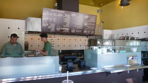 inside counter