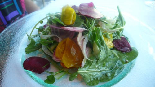 Roasted beet salade