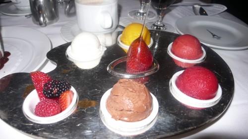 gelato plate