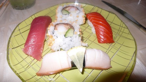 my plate of sushi