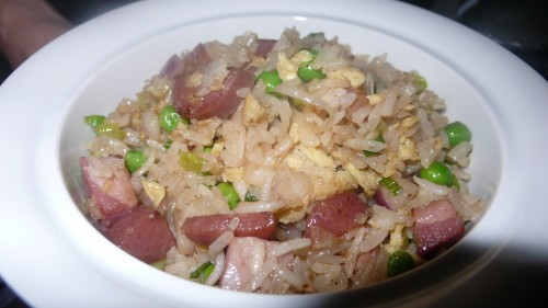 Lop Cheung sausage fried rice