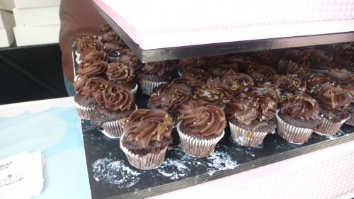 chocolate salted carmel cupcakes