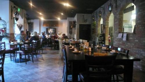 Inside Palumbo Ristorante