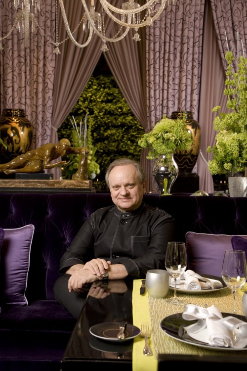 Joel Robuchon, at Joel Robuchon restaurant MGM Grand
