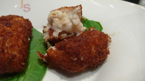 Spanish chicken croqueta